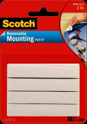 3M Mounting Putty Removble 2Z Pack of 3