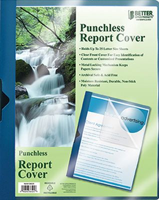 Punchless Report Cover Pack of 24