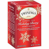 Twinings Tea - Tea Holiday Berry - Case of 6 - 20 CT