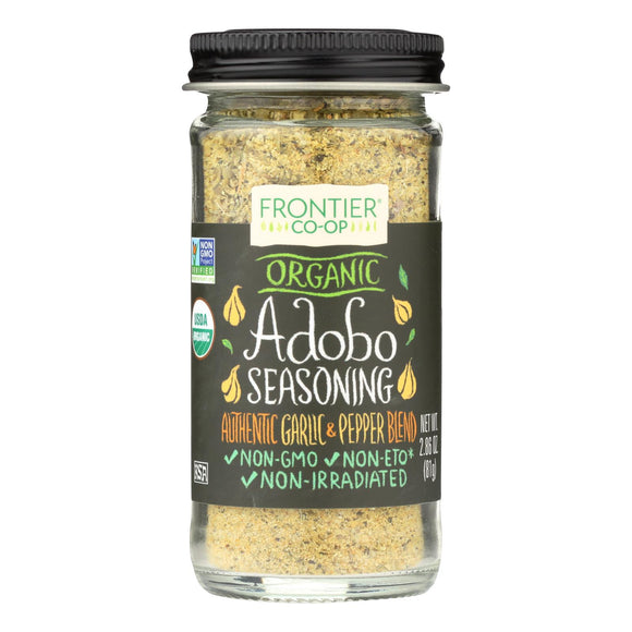 Frontier Herb Adobo Seasoning - Organic - 2.86 oz Pack of 3