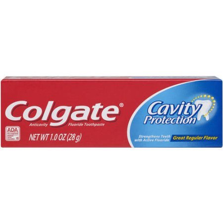 Colgate Anticavity Fluoride Toothpaste Cavity Protection 1 Oz Pack of 24