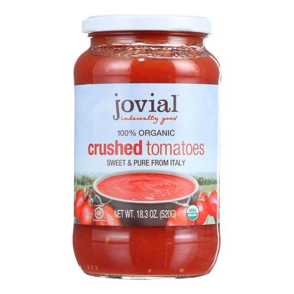 Jovial - Tomatoes - Organic - Crushed - 18.3 oz - case of 6