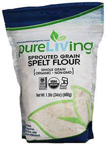 Pure Living - Spelt Flour Sprouted - Case of 6 - 1.5 LB