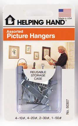 Picture Hangers Asst Pack of 3