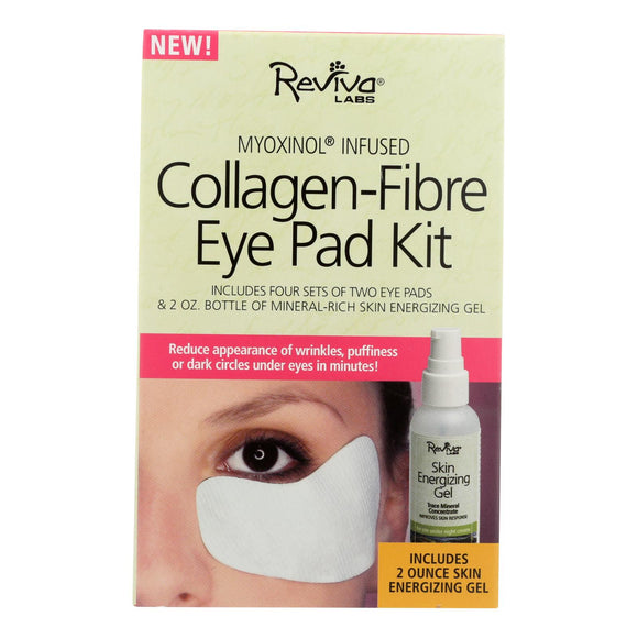 Reviva Labs - Collagen Fibre Eye Pad Kit 2-Pads - 2 oz Pack of 3