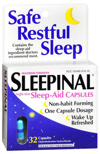 Sleepinal Capsules, 32 Count