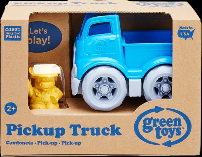 Mini Pick Up Truck W/Character Pack of 2