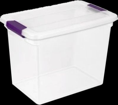 Ster Clearview Latch Box 27Qt Pack of 6