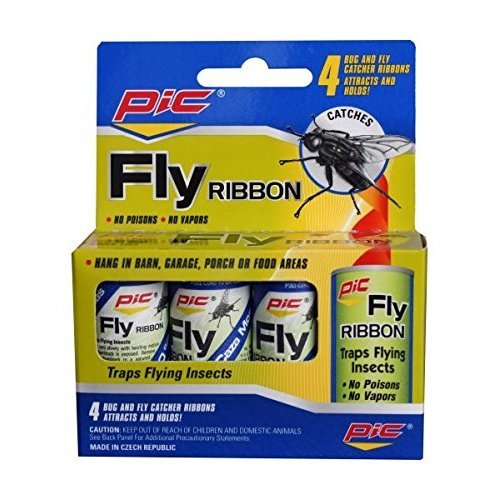 Pic Fly RiBurts Bees on 4Pk Pack of 24