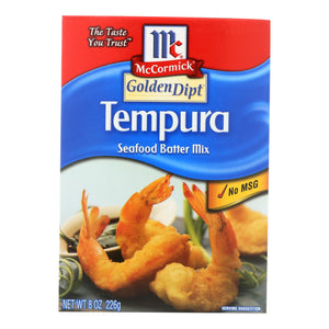 Golden Dipt - Breading - Tempura Mix - Case of 8 - 8 oz.