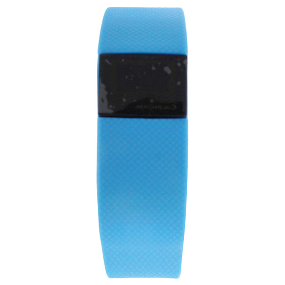 EK-H4 Health Sports Blue Silicone Bracelet by Eclock for Unisex - 1 Pc Bracelet Pack of 3