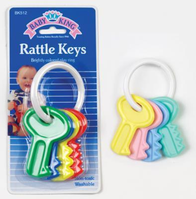 Rattle Key Pack of 3