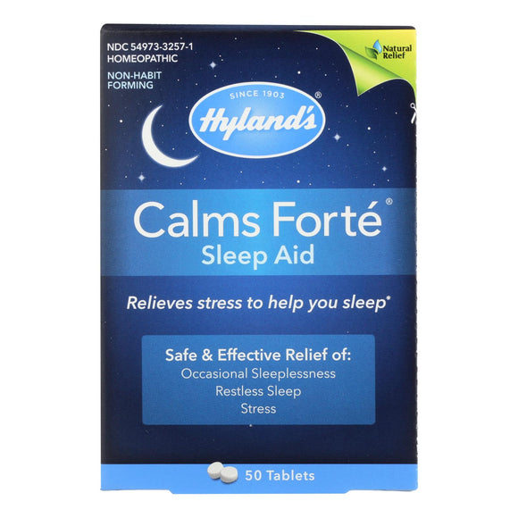 Hylands Homeopathic Calms Fort? - Sleep Aid - 50 Tablets Pack of 3