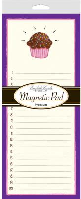 Magnetic Note Pad 80Ct Premium Pack of 3