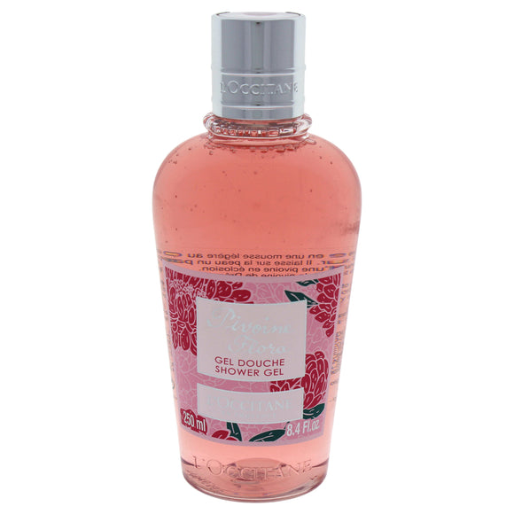 Pivoine Flora Shower Gel by LOccitane for Unisex - 8.4 oz Shower Gel Pack of 3
