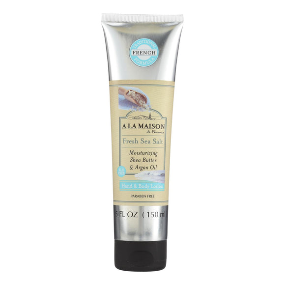 A La Maison - Hand and Body Lotion - Fresh Sea Salt - 5 fl oz Pack of 3