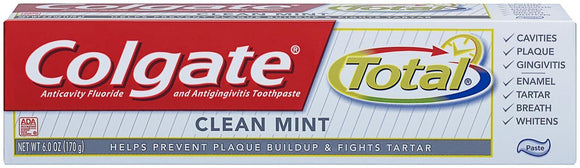 Colgate Total Toothpaste 6 Oz Pack of 3
