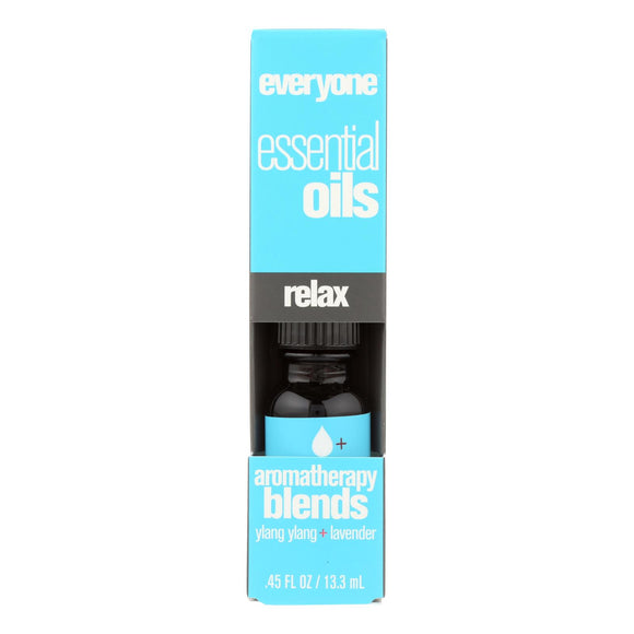 EO Products - Everyone Aromatherapy Blends - Essential Oil - Relax - .5 oz Pack of 3