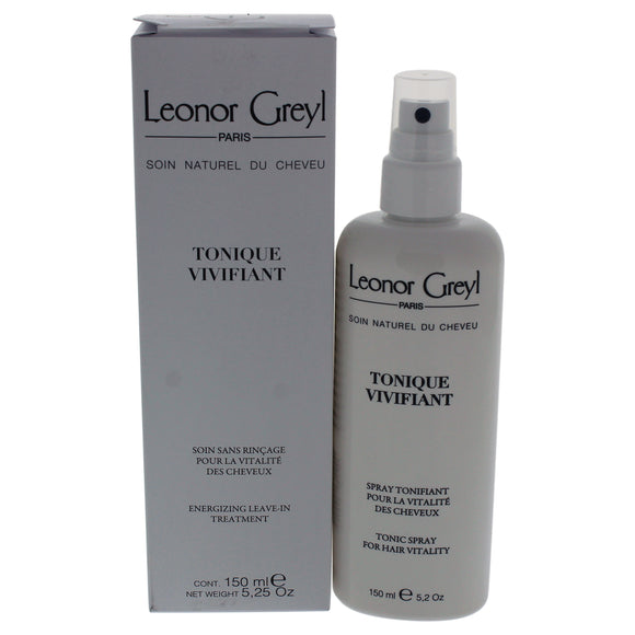 Tonique Vivifiant Energizing Leave-In Treatment by Leonor Greyl for Unisex - 5 oz Treatment Pack of 3