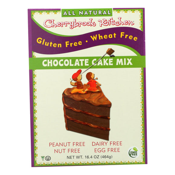 Cherrybrook Kitchen - Chocolate Cake Mix - Gluten Free Wheat Free - Case of 6 - 16.4 oz
