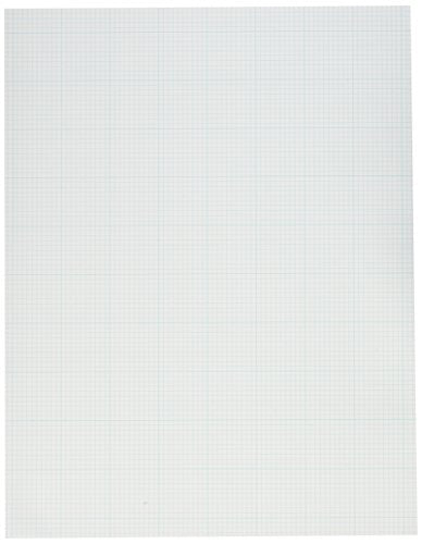 Ampad Graph Pad 8 1/2 X 11 Pack of 10