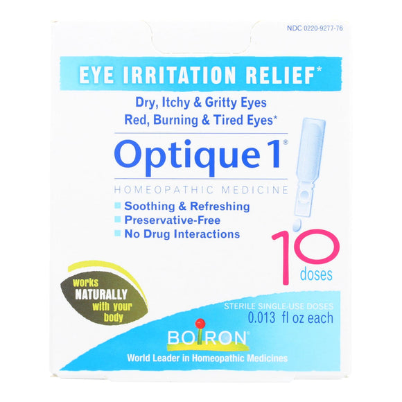 Boiron - Optique 1 Minor Eye Irritation Drops - 10 Doses Pack of 3