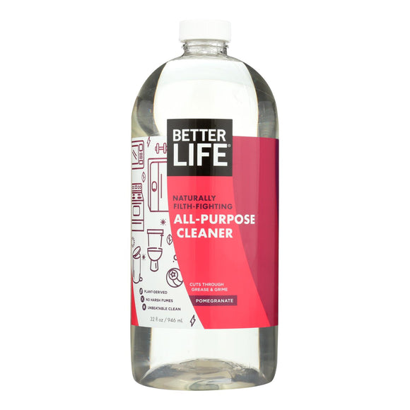 Better Life Cleaner - All Purpose - Pomegranate - 32 fl oz Pack of 3