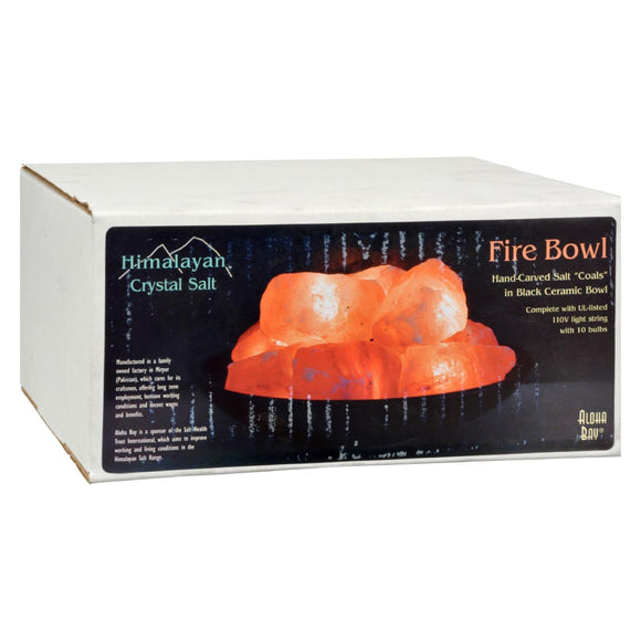 Himalayan Salt Fire Bowl with Stones - 1 ct Pack of 3