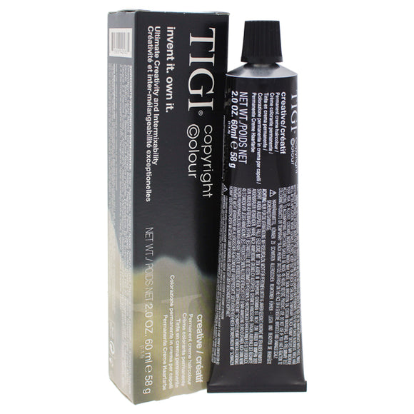 Colour Creative Creme Hair Color - # 9/03 Very Light Natural Golden Blonde by TIGI for Unisex - 2 oz Pack of 3