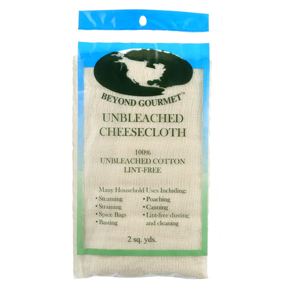 Beyond Gourmet Cheesecloth - Unbleached - 2 sq yd Pack of 3