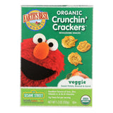Earths Best Crackers - Organic - Crunchin Crackers - Veggie - Snack - 5.3 oz - case of 6