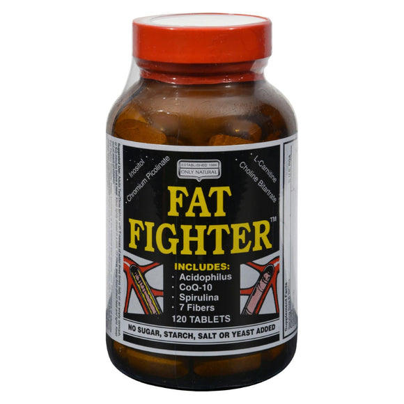 Only Natural Fat Fighter - 120 Tablets Pack of 3