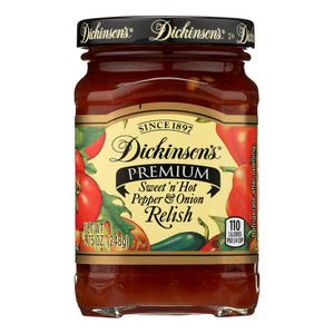 Dickinson - Pepper Onion Relish - Case of 6 - 8.75 oz