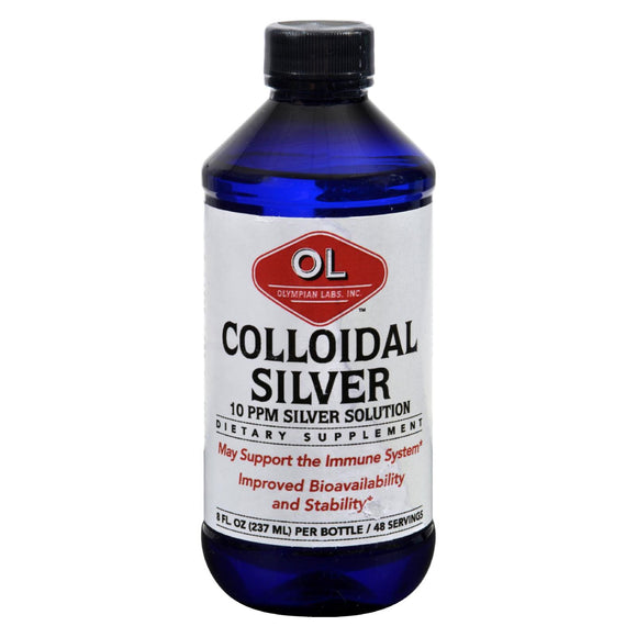 Olympian Labs Colloidal Silver - 10 ppm - 8 fl oz Pack of 3