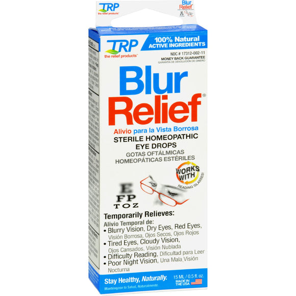 TRP Blur Relief Eye Drops - 0.05 fl oz Pack of 3