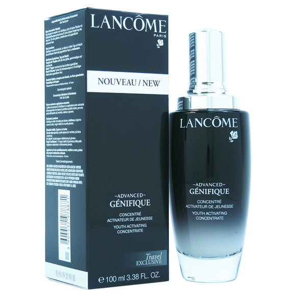 Advanced Genifique Youth Activating Concentrate by Lancome for Unisex - 3.38 oz Serum Pack of 3