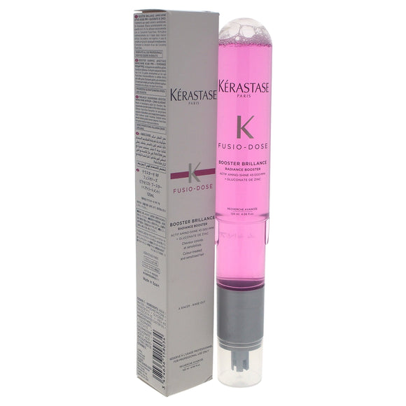 Fusio-Dose Booster Brillance by Kerastase for Unisex - 4.06 oz Treatment Pack of 3