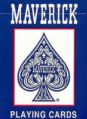 Play Cards Maverick Poker Pack of 6