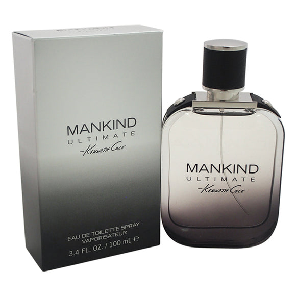 Mankind Ultimate by Kenneth Cole for Men - 3.4 oz EDT Spray Pack of 3