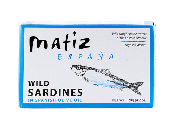 Matiz Sardines - Olive Oil - Gallego - Case of 12 - 4.2 oz