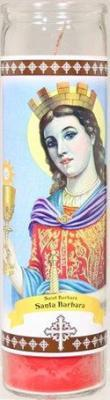 Candle St 8 Saint Barbara Pack of 12