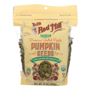 Bob'S Red Mill Pumpkin Seeds  - Case of 6 - 12 OZ
