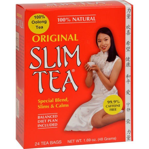 Hobe Labs Original Slim Tea - 24 Bags Pack of 3