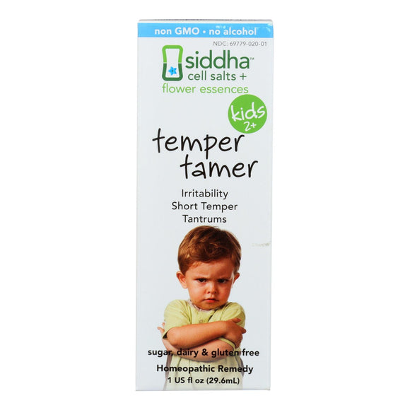 Siddha Flower Essences Temper Tamer - Kids - Age Two Plus - 1 fl oz Pack of 3
