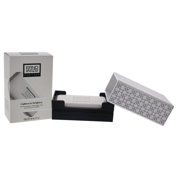 Lighten & Brighten White Marble Treatment Bar by Erno Laszlo for Unisex - 3.4 oz Soap Pack of 3