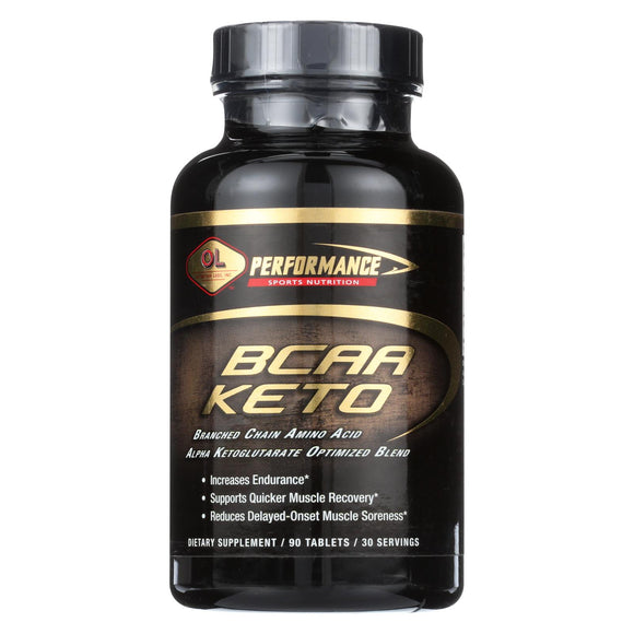 Olympian Labs BCAA Keto 3 to 1 - 90 Tablets Pack of 3