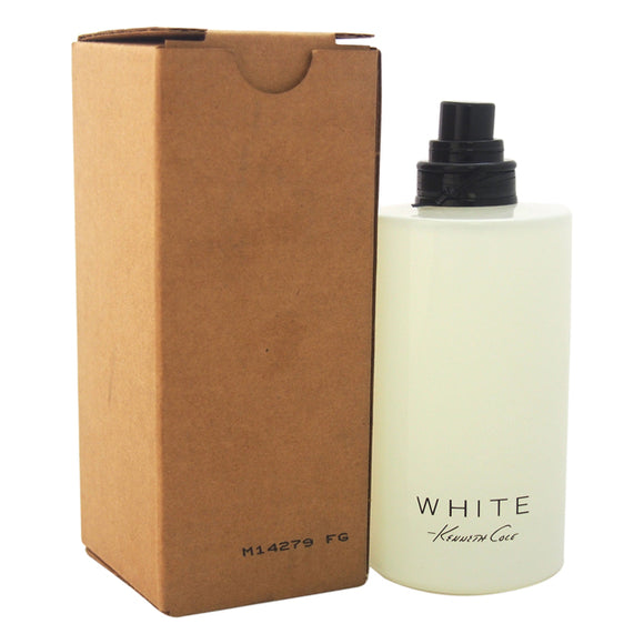 Kenneth Cole White by Kenneth Cole for Women - 3.4 oz EDP Spray (Tester) Pack of 3