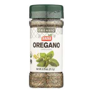Badia Spices - Spice Oregano - Case of 8 - .75 OZ