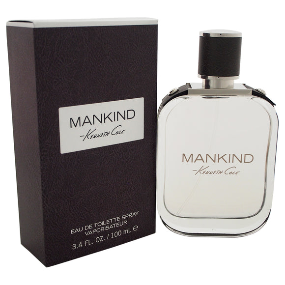 Mankind by Kenneth Cole for Men - 3.4 oz EDT Spray Pack of 3