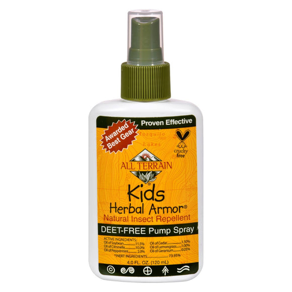 All Terrain - Herbal Armor Spray For Kids - 4 oz Pack of 3